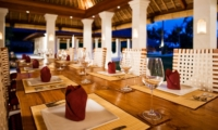 Dining Area - Villa Sepoi Sepoi - Lombok, Indonesia
