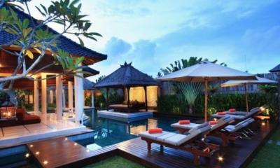 Gardens and Pool - Villa Sesari - Seminyak, Bali