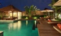 Pool at Night - Villa Sesari - Seminyak, Bali