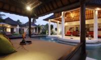 Pool Bale with View - Villa Sesari - Seminyak, Bali