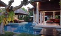 Pool Side Seating Area - Villa Sesari - Seminyak, Bali