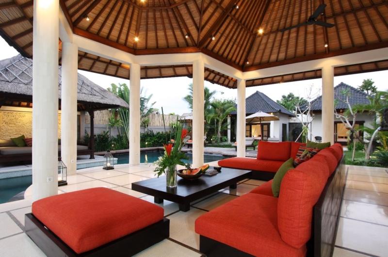 Living Area - Villa Sesari - Seminyak, Bali