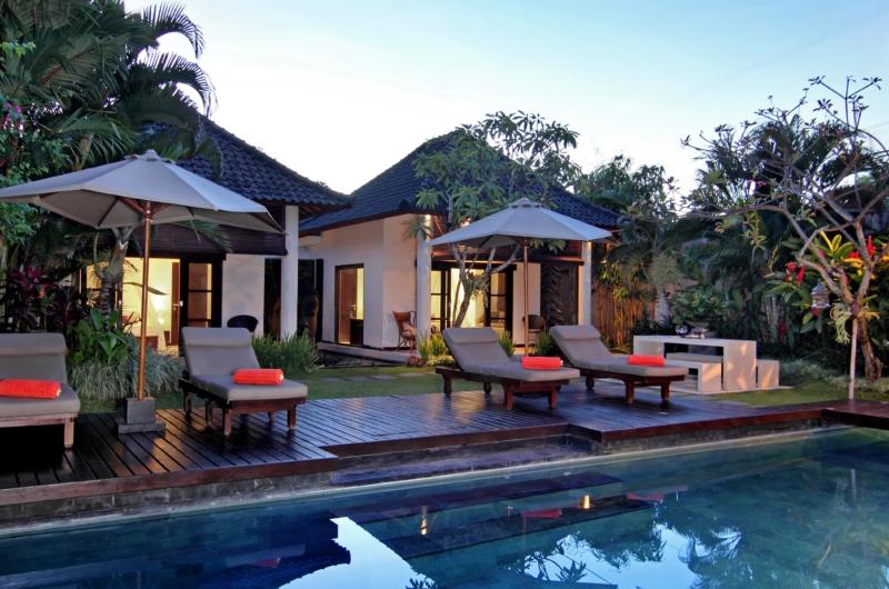 Reclining Sun Loungers - Villa Sesari - Seminyak, Bali