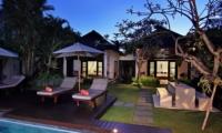 Sun Beds at Night - Villa Sesari - Seminyak, Bali