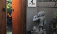 Entrance Gate - Villa Sesari - Seminyak, Bali