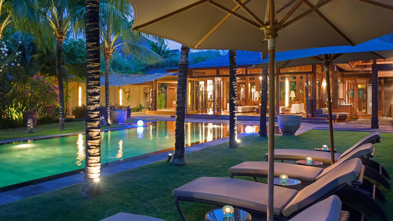 Pool Side Loungers - Villa Shambala - Seminyak, Bali