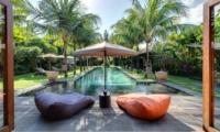 Pool Side Seating Area - Villa Shambala - Seminyak, Bali