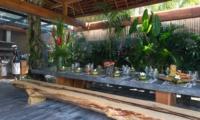 Dining Area - Villa Shambala - Seminyak, Bali
