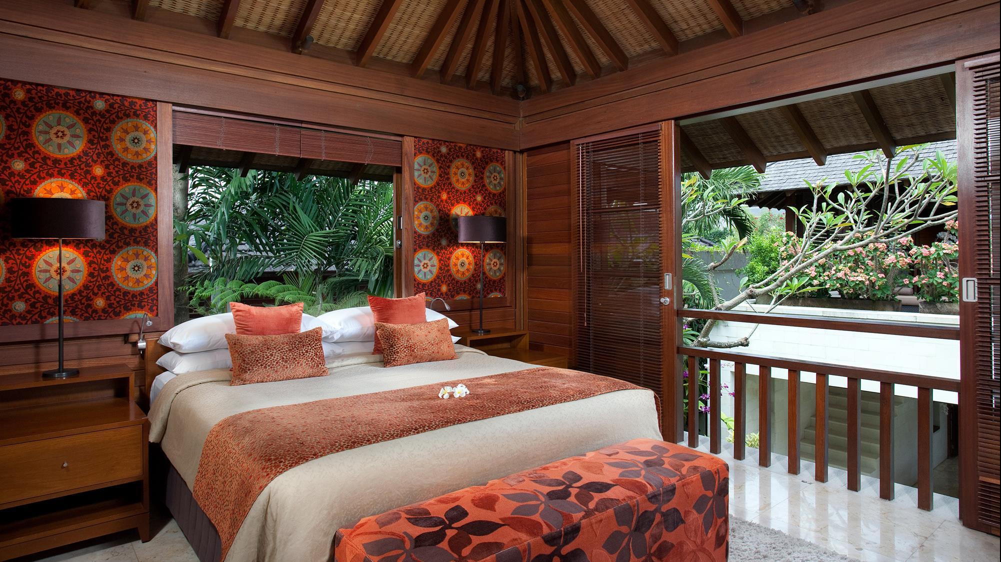 Bedroom with View - Villa Shinta Dewi - Seminyak, Bali