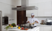 Kitchen with Chef - Villa Shinta Dewi - Seminyak, Bali