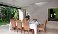 Dining Area - Villa Shinta Dewi - Seminyak, Bali
