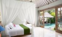 Bedroom with View - Villa Sky Li - Seminyak, Bali