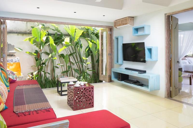 TV Room - Villa Sky Li - Seminyak, Bali
