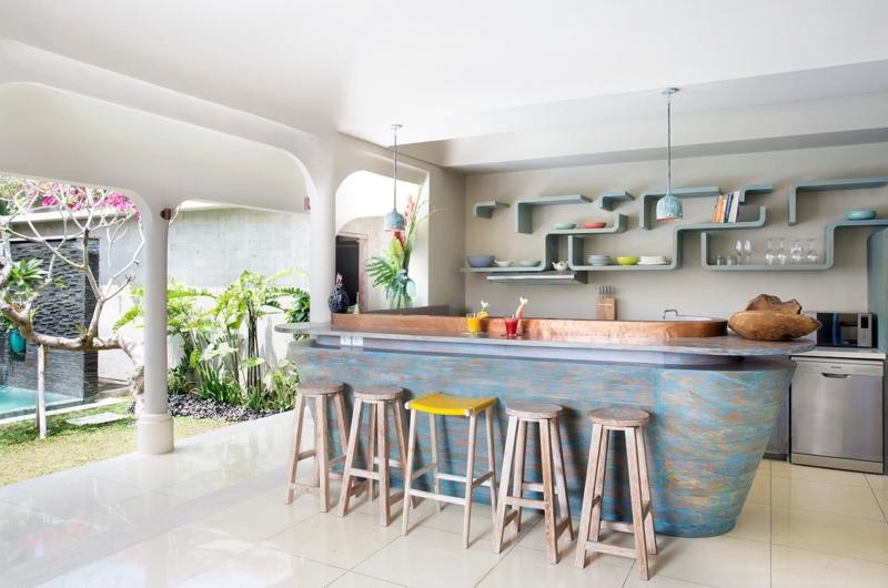 Kitchen Area - Villa Sky Li - Seminyak, Bali