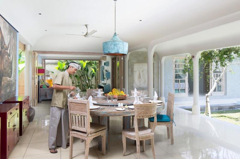 Dining Area - Villa Sky Li - Seminyak, Bali