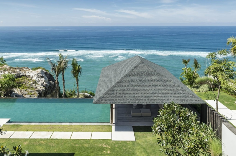 Swimming Pool with Sea View - Villa Soham - Ungasan, Bali