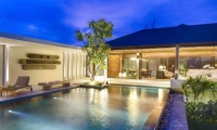 Gardens and Pool at Night - Villa Soham - Ungasan, Bali