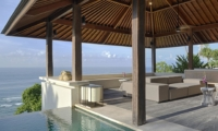 Lounge Area with Sea View - Villa Soham - Ungasan, Bali