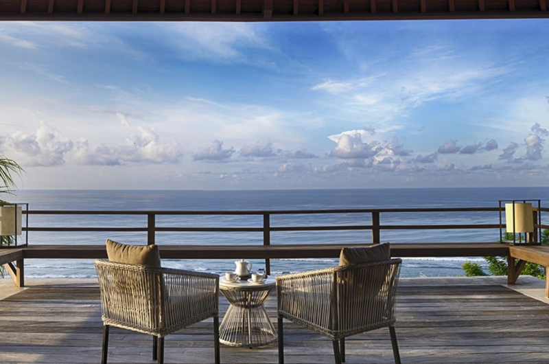Outdoor Seating Area - Sohamsa Ocean Estate - Ungasan, Bali