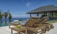 Reclining Sun Loungers - Villa Soham - Ungasan, Bali
