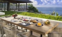 Dining Area with Sea View - Villa Soham - Ungasan, Bali