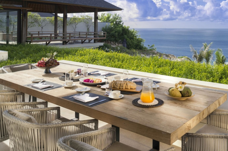 Dining Area with Sea View - Sohamsa Ocean Estate - Ungasan, Bali