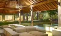 Family Area at Night - Sohamsa Ocean Estate - Ungasan, Bali