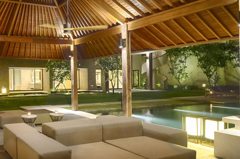 Gardens at Night - Villa Soham - Ungasan, Bali