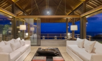 Living Area at Night - Sohamsa Ocean Estate - Ungasan, Bali