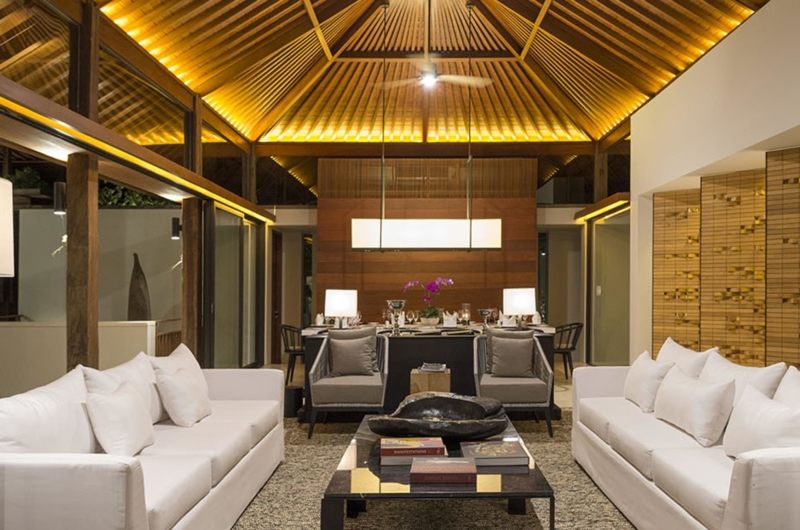 Living and Dining Area - Sohamsa Ocean Estate - Ungasan, Bali