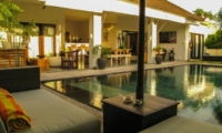 Pool Side Seating Area - Villa Sophia - Seminyak, Bali