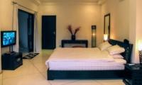 Bedroom with TV - Villa Sophia - Seminyak, Bali