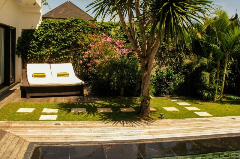 Reclining Sun Loungers - Villa Sophia - Seminyak, Bali