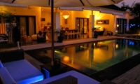 Swimming Pool at Night - Villa Sophia - Seminyak, Bali