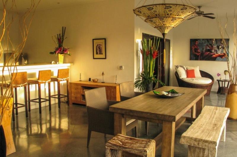 Dining Area - Villa Sophia - Seminyak, Bali