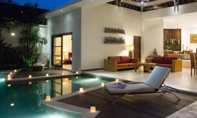 Pool at Night - Villa Suliac - Legian, Bali