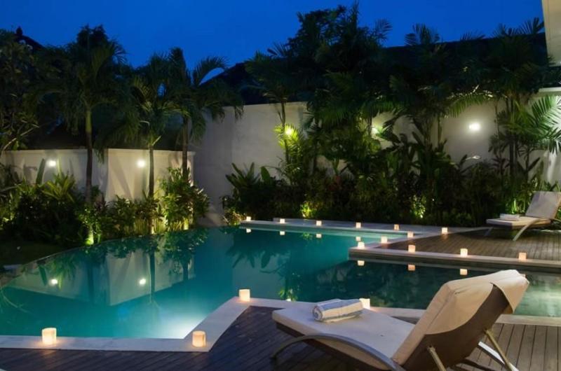 Pool Side Loungers - Villa Suliac - Legian, Bali