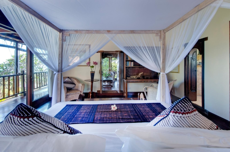 Bedroom and Balcony - Villa Sungai Tinggi - Pererenan, Bali