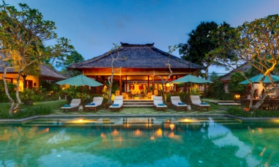 Night View - Villa Surya Damai - Umalas, Bali