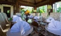 Dining Area - Villa Surya Damai - Umalas, Bali