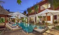 Pool Side Loungers - Villa Tangram - Seminyak, Bali