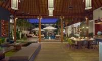 Living and Dining Area - Villa Tangram - Seminyak, Bali
