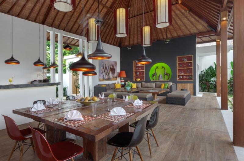 Dining Area - Villa Tangram - Seminyak, Bali