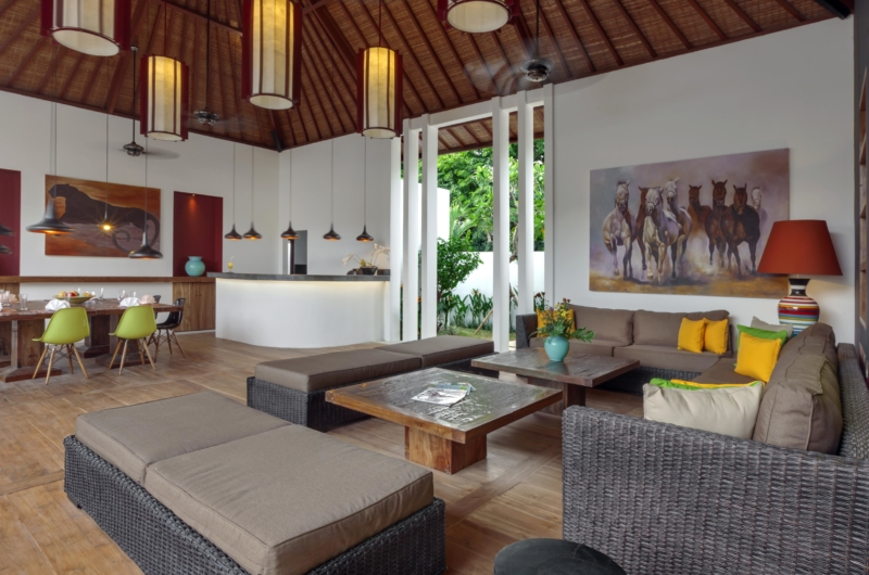 Living Area - Villa Tangram - Seminyak, Bali