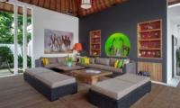 Indoor Living Area - Villa Tangram - Seminyak, Bali