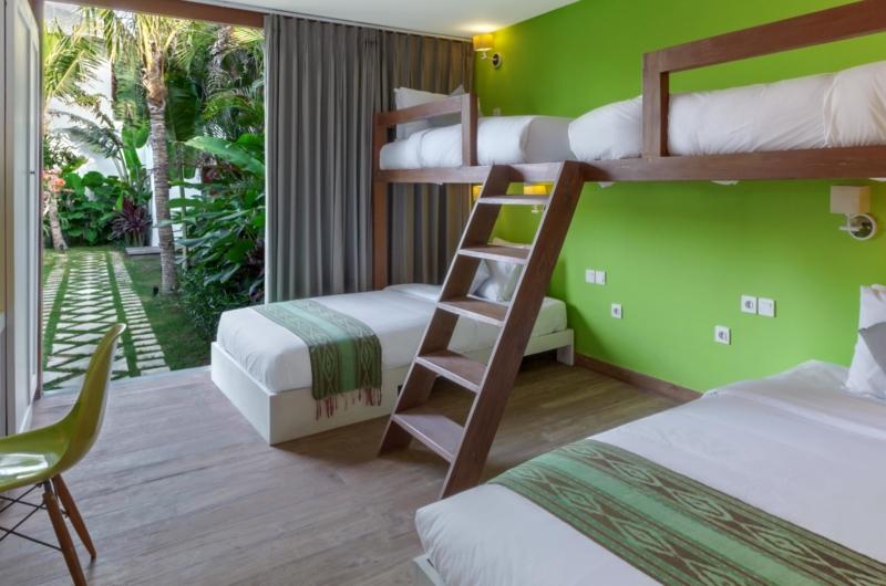 Bunk Beds with Garden View - Villa Tangram - Seminyak, Bali