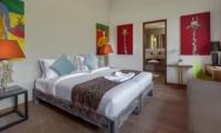 Bedroom with Sofa and Study Table - Villa Tangram - Seminyak, Bali