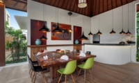 Indoor Dining Area - Villa Tangram - Seminyak, Bali