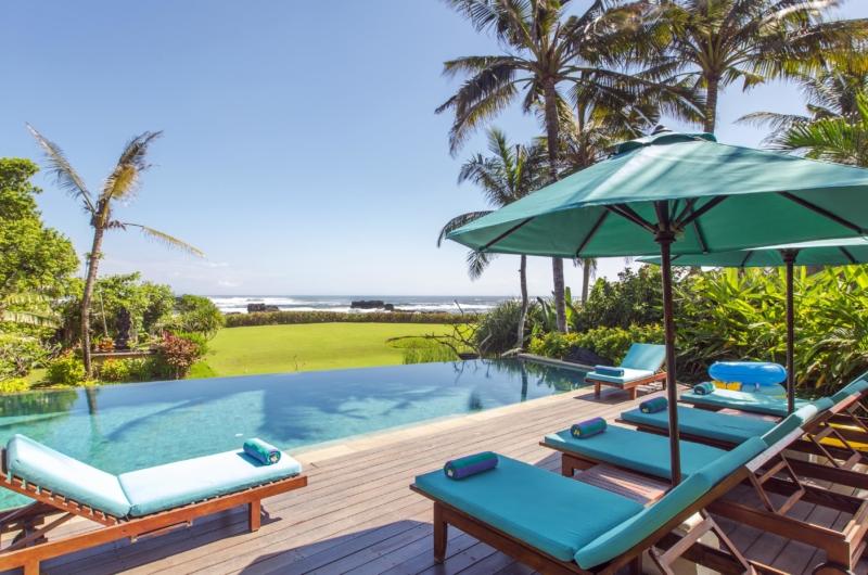 Pool Side Loungers - Villa Tanju - Seseh, Bali