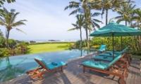 Reclining Sun Loungers - Villa Tanju - Seseh, Bali